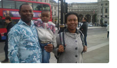 Mr. & Mrs. Emeka Nwanegbo - London